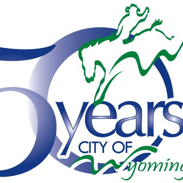 Logo for City of Wyoming 50th Anniversary