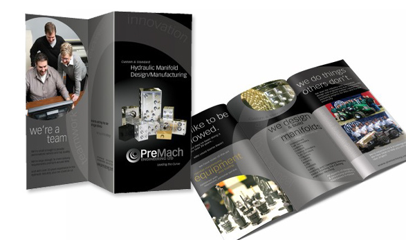 Tri-fold Brochure for Premach Engineering