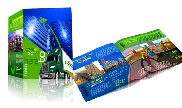 Bi-fold Brochure for Superior Ground Cover