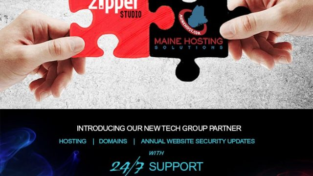 Zipper Introduces New Tech Group Partner Maine Hosting Solutions!