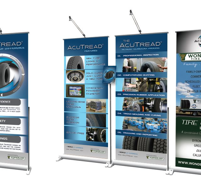 AcuTread Tradeshow Pop-Up Displays