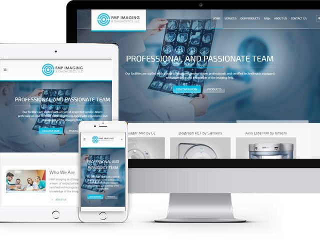 FMP Imaging Website Design